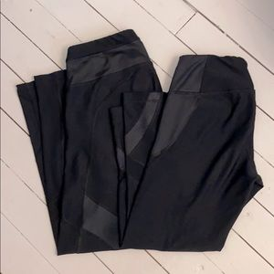 Bundle 90 Degree Full length and Capri Mesh Tights